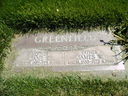Jane Eliza <I>Smith</I> Greenfield