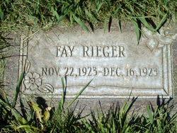 Fay Rieger