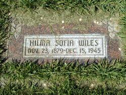 Hilma Sofia <I>Finell</I> Wiles