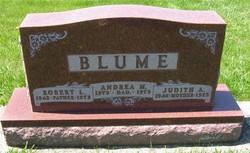 "Judith Ann ""Judy"" <I>Strasser</I> Blume"