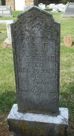 Ann F. Rhine