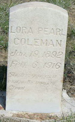 Lora Pearl Coleman