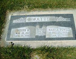 Mary Alice <I>Powell</I> Watts