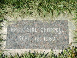 Infant daughter Chappell