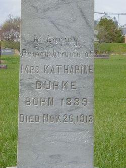Katharine <I>Schmitz</I> Burke