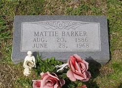 Mattie <I>Grabs</I> Barker