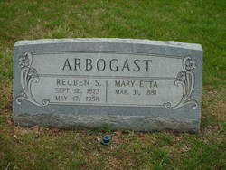 Mary Etta <I>Booth</I> Arbogast