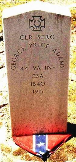 Sgt George Price Adams