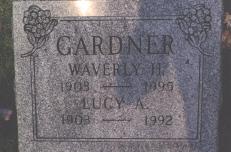 Lucy Augusta <I>Ackley</I> Gardner