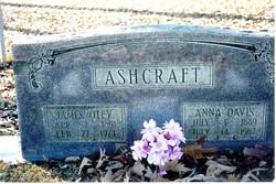 Anna Lee <I>Davis</I> Ashcraft