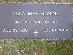 Lela Mae <I>Self</I> Bivens