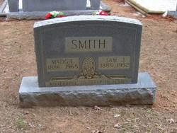 Madgie Mozell <I>McNutt</I> Smith