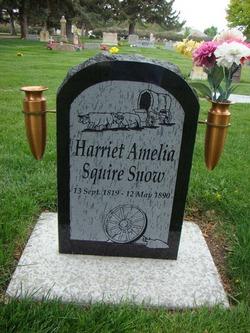 Harriet Amelia <I>Squire</I> Snow