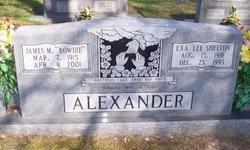 Exa Lee <I>Shelton</I> Alexander