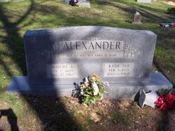 Robert Alonzo (Lon) Alexander