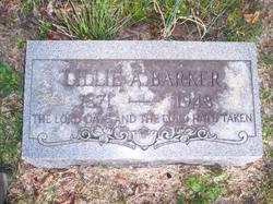 Lillie A Barker
