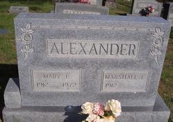 Mary L. <I>Patterson</I> Alexander
