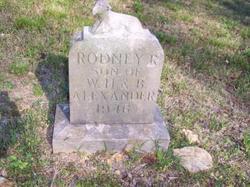 Rodney R Alexander