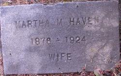 Martha M <I>Ivens</I> Haven