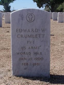 Edward W Crumlett