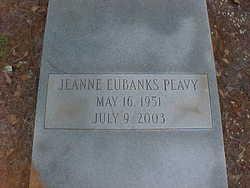 Jeanne Pamelia <I>Eubanks</I> Peavy