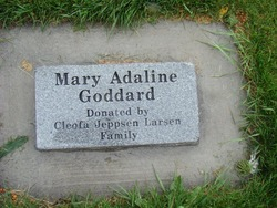 Mary Adaline <I>Goddard</I> Snow