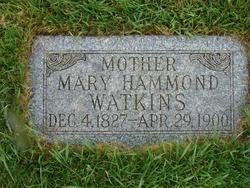 Mary Almina <I>Hammond</I> Watkins