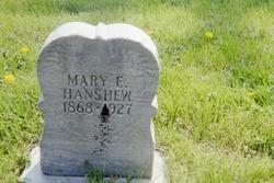 Mary E. <I>Williams</I> Hanshew
