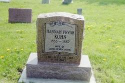 Hannah Cornelia <I>Pryor</I> Kuhn