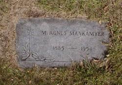Mary Agnes <I>Baker</I> Mankamyer