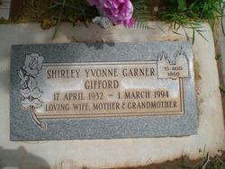 Shirley Yvonne <I>Garner</I> Gifford