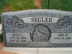 Beth L <I>Pope</I> Segler