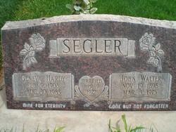 John Walter Segler