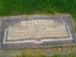 Minnie Ann <I>Stratton</I> Wilson