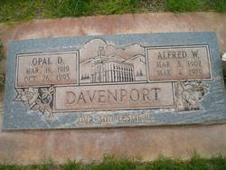 Opal Della <I>Meacham</I> Davenport