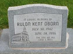 Rulon Kent Oborn