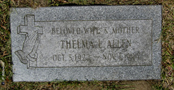 Thelma Lucille <I>Michaels</I> Allen