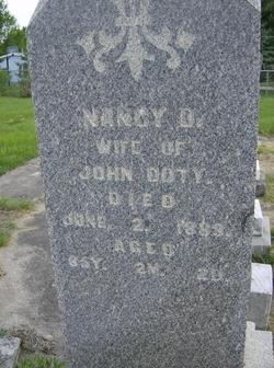 "Mary D. ""Nancy"" <I>Barnett</I> Doty"