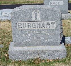 "Catherine ""Katie"" <I>Hoefner</I> Burghart"