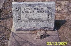 Bessie M. Cray <I>Benjamin</I> Buycks
