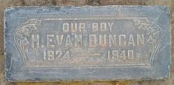 Howard Evan Duncan
