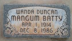 Wanda <I>Duncan</I> Batty