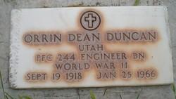 Orrin Dean Duncan