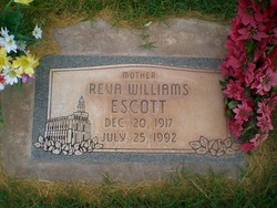 Reva <I>Williams</I> Escot