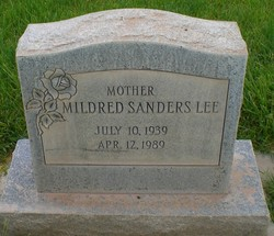 Mildred <I>Sanders</I> Lee