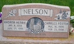 Charles Foster Nelson