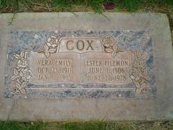 Vera Emily <I>Parkinson</I> Cox