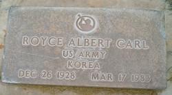 Royce Albert Carl