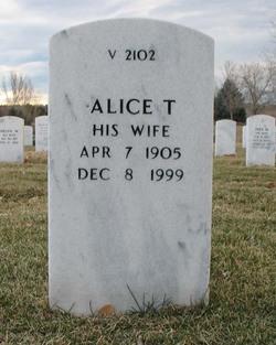 Alice T Cullyford