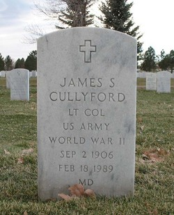 James S Cullyford